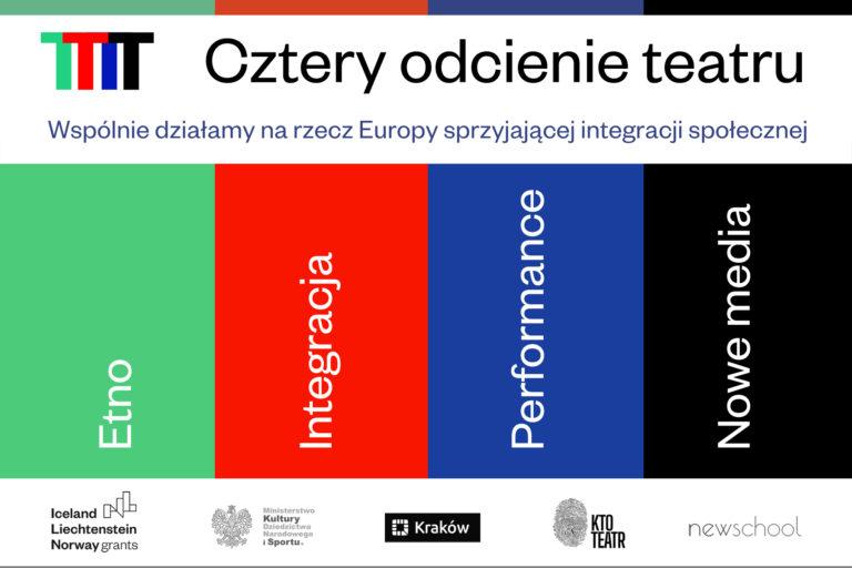 Cztery odcienie teatru, grafika Witold Siemaszkiewicz