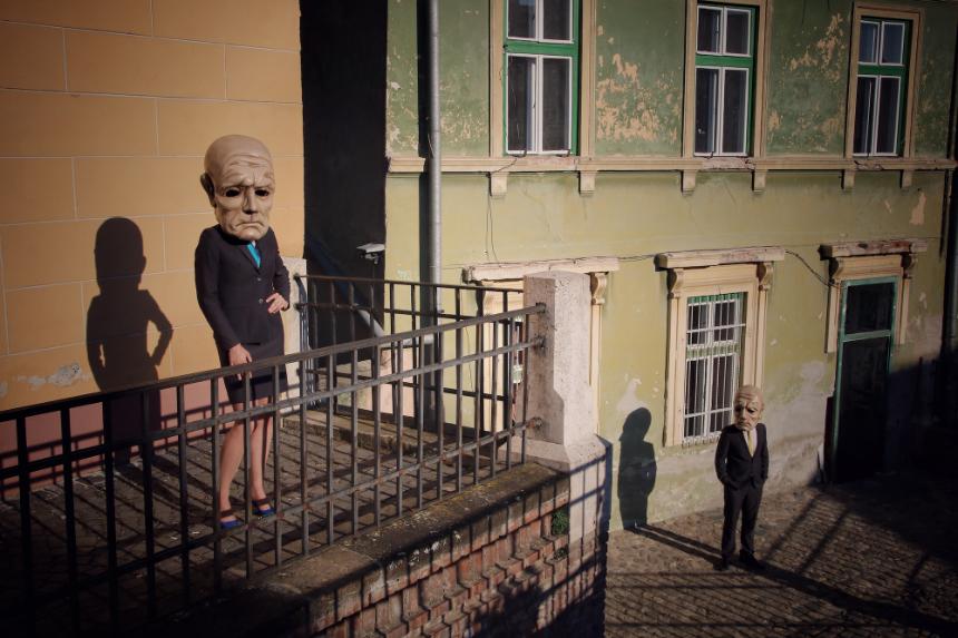 PEREGRINUS. EXHIBITION II, fot. Bartek Cieniawa, Sibiu 2017