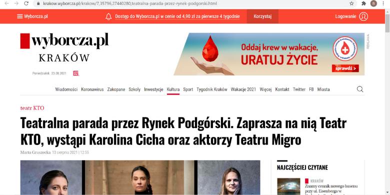 Wyborcza_Podgórska_Parada_Teatralna